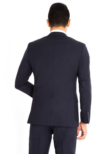 Slimfit Düz Takım Elbise