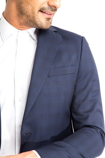 Erkek Giyim - İtalyan Ekose Takım Elbise