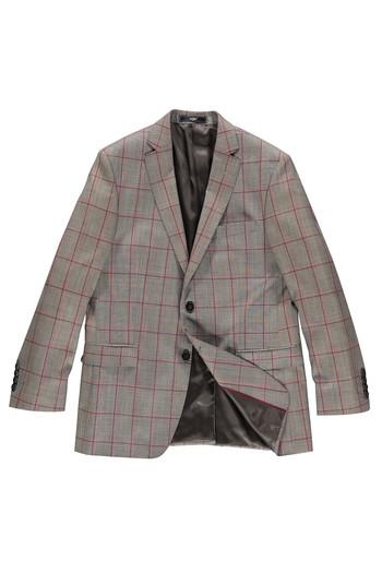 Kareli Klasik Ceket