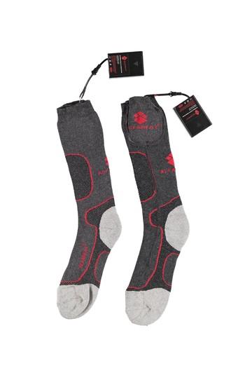 Isıtmalı Pilli Spor Çorap