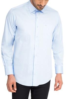 Uzun Kol Düz Saten Gömlek