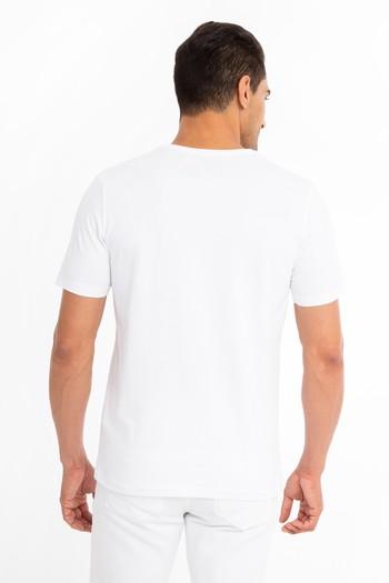 Düz V Yaka Tişört