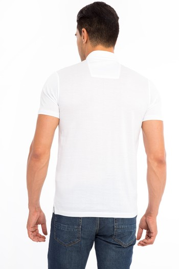 Polo Yaka Slimfit Merserize Tişört