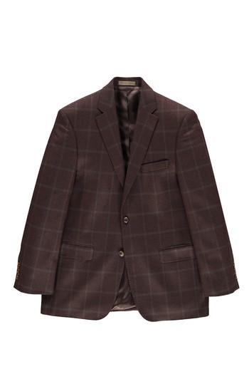 Kaşmir Kareli Ceket