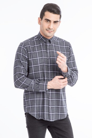 Uzun Kol Flanel Gömlek