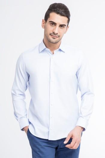 Uzun Kol Slimfit Oxford Gömlek