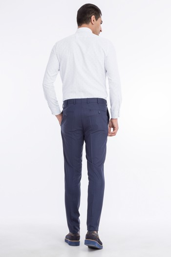 Süper Slimfit  Ekose Pantolon