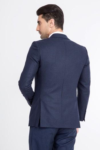 Slimfit Kuşgözü Ceket