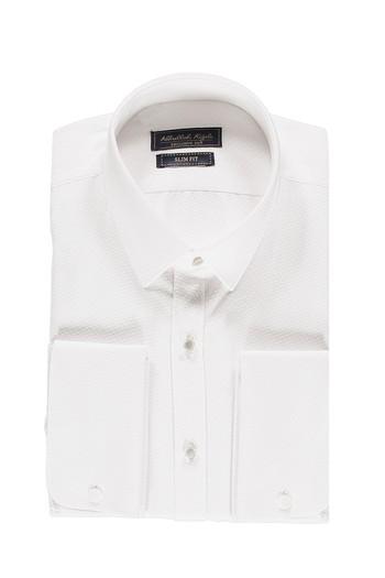 Uzun Kol Slim Fit Manşetli Gömlek