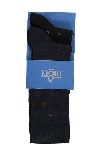 2'li Desenli Pamuk Çorap