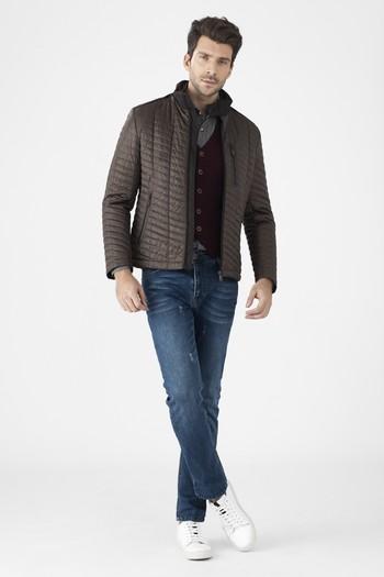 Erkek Giyim - Bonded Kapitone Mont