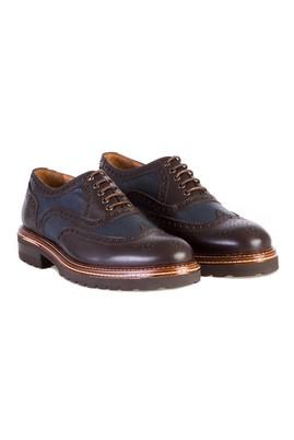 Casual Bağcıklı Deri Ayakkabı