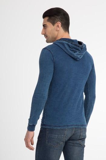 Kapüşonlu Slimfit Sweatshirt