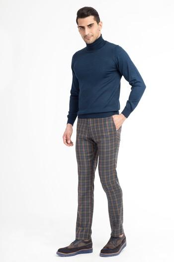 Süper Slimfit Flanel Pantolon