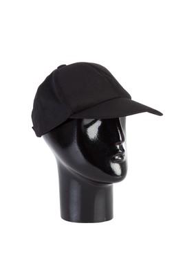 Erkek Giyim - Siyah STD 00 Şapka Parçalı