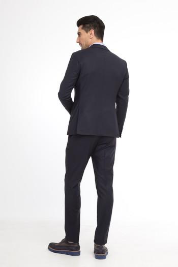 Süper Slim Fit İtalyan Düz Takım Elbise