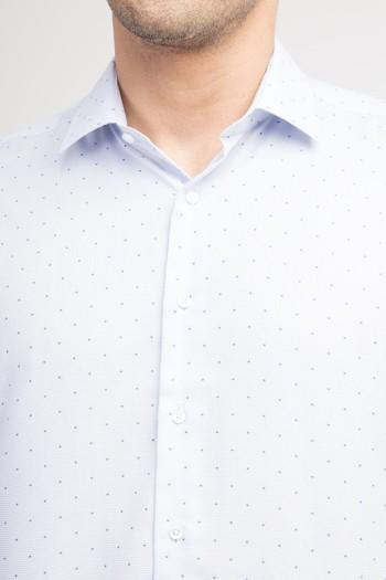 Uzun Kol Desenli Kolay Ütülenir Gömlek