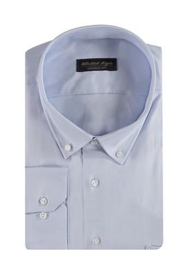 Büyük Beden Uzun Kol Oxford Gömlek