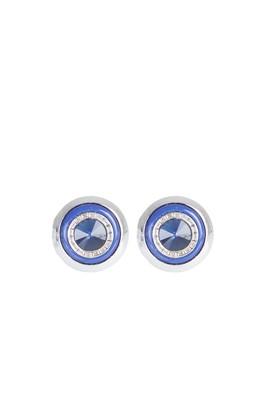 Erkek Giyim - Mavi STD 00 Taşlı Kol Düğmesi