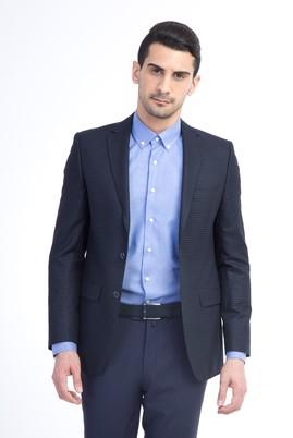 Erkek Giyim - Bambu Kareli Ceket