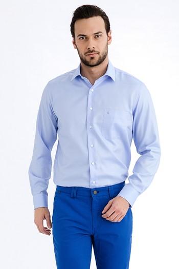 Uzun Kol Klasik Kolay Ütülenir Gömlek