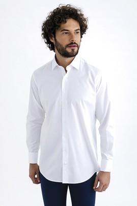 Uzun Kol Düz Manşetli Gömlek