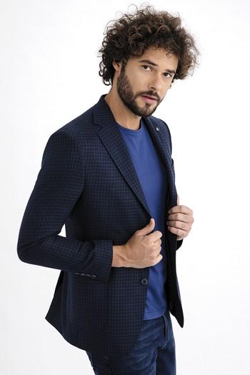 Erkek Giyim - Keten Bambu Ceket
