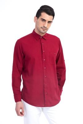 Uzun Kol Keten Tasarım Gömlek