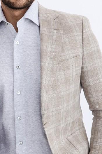 Erkek Giyim - İtalyan Ekose Ceket