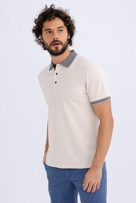 Polo Yaka Düz Regular Fit Tişört