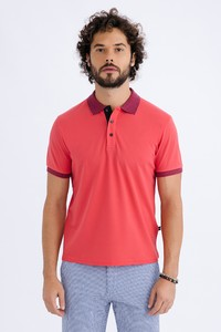 Polo Yaka Düz Regular Fit Tişört
