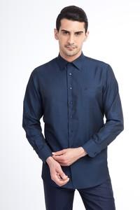 Uzun Kol Klasik Düz Gömlek