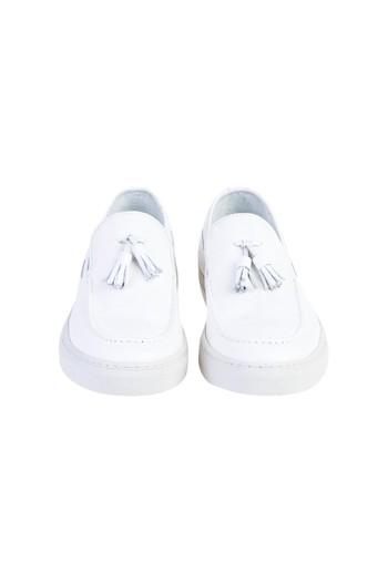 Püsküllü Slip On Ayakkabı