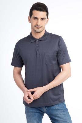 Polo Yaka Düz Merserize Regular Fit Tişört