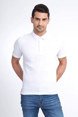 Polo Yaka Tasarım Regular Fit Tişört