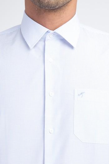 Uzun Kol Kareli Klasik Gömlek