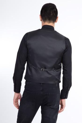 Erkek Giyim - Kruvaze Yelek