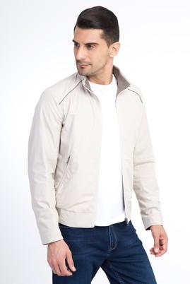 Erkek Giyim - Mevsimlik Dik Yaka Mont