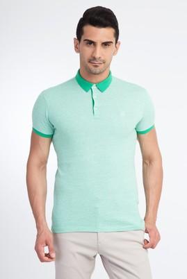 Polo Yaka Tasarım Slimfit Tişört