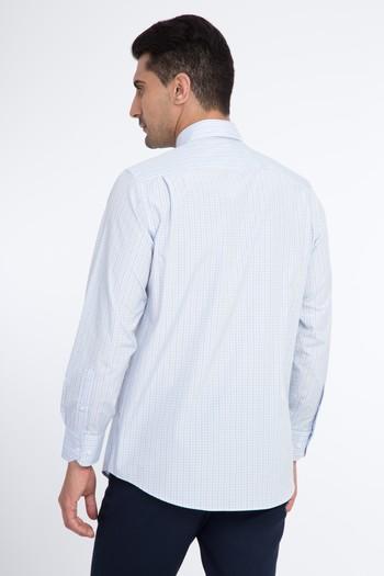 Uzun Kol Ekose Klasik Gömlek