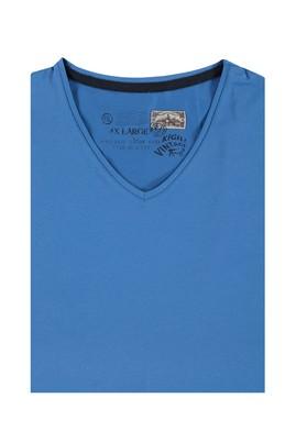 Erkek Giyim - King Size V Yaka Tişört