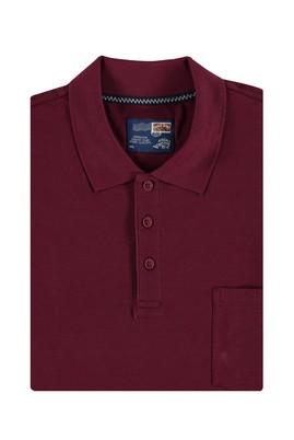King Size Polo Yaka Düz Tişört