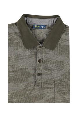 King Size Polo Yaka Tasarım Tişört
