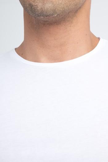 Bisiklet Yaka Slim Fit Tişört