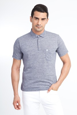 Polo Yaka Tasarım Regular Fit Tişört