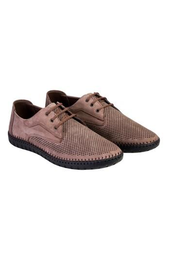 Erkek Giyim - Bağcıklı Nubuk Ayakkabı