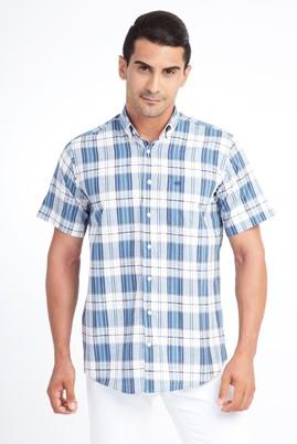 Kısa Kol Ekose Klasik Gömlek