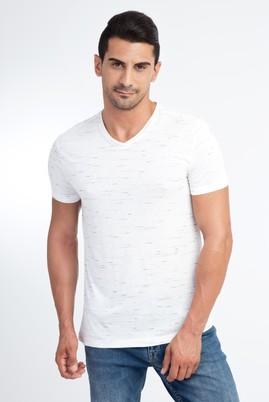 V Yaka Tasarım Tişört