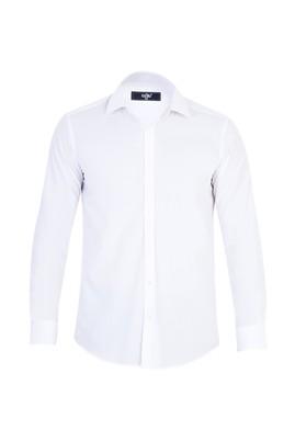 Uzun Kol Düz Süper Slim Fit Gömlek