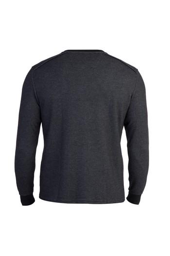 Bisiklet Yaka Tasarım Sweatshirt